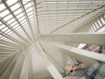 Most spectacular railway station on my trip - Liege Guillemins