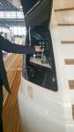 Ferretti 750 docking
