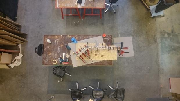 hefty plywood lamination. empowering!